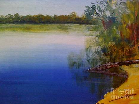 Still Waters - original sold by Therese Alcorn