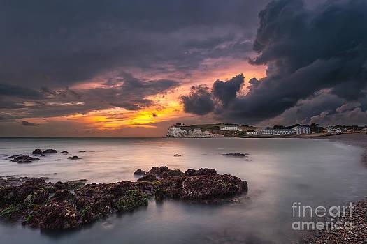 English Landscapes - Storm At Freshwater Bay