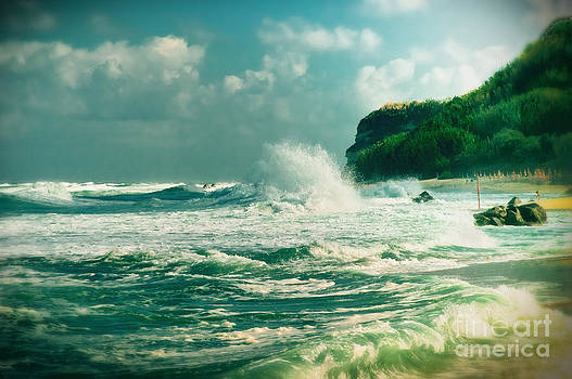 Silvia Ganora - Stormy sea