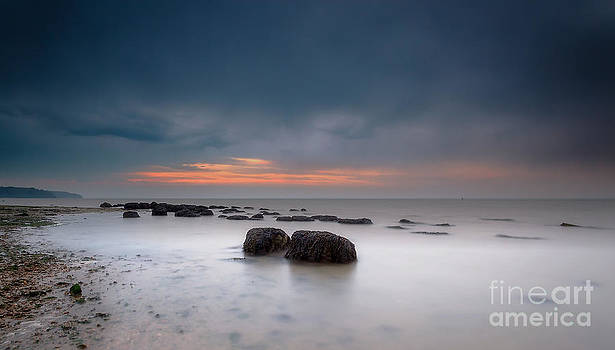 English Landscapes - Stormy Sunset