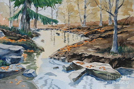 Autumn on Honey Run by Bill Dinkins