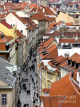 Streets of Prague by Don Kenworthy