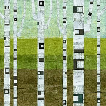 Michelle Calkins - Summer Birches