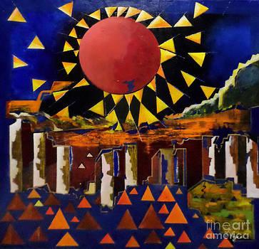 Sun of Joy by Adalardo Nunciato  Santiago