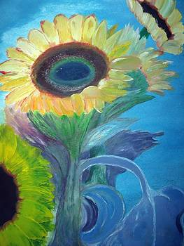Sunflowers by Julie Lourenco