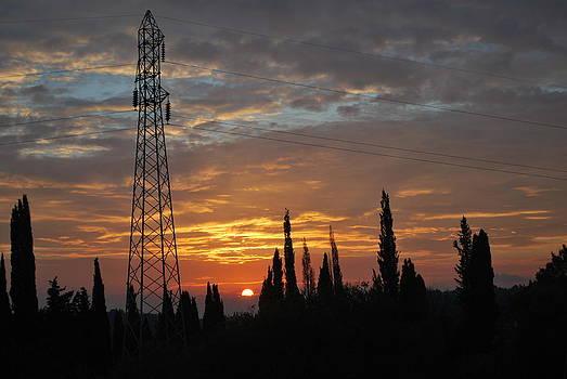 sunrise in Corfu 2 by George Katechis