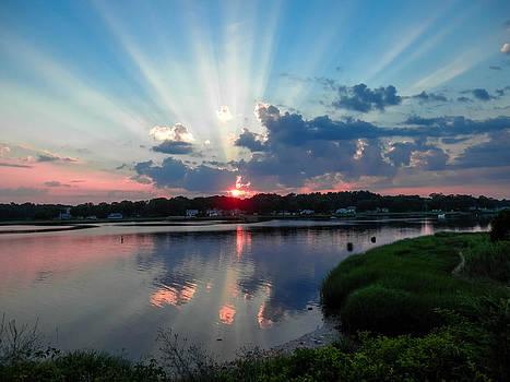 Sunset Rays by Heather Sylvia