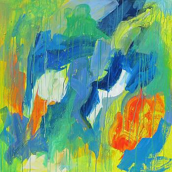 The injured Swan by Khalid Alzayani
