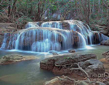 Thailand waterfall by Sergey Korotkov