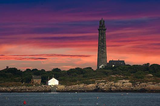 Randall Branham - Thatcher Island Twin lighthouse
