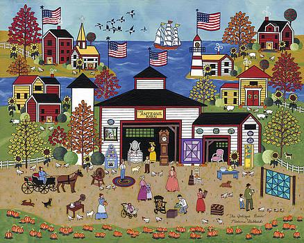 The Antique Barn by Medana Gabbard