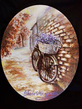 The bicycle by Ghada Ali yousri