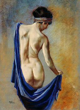 The Blue Shawl by Lynda Robinson