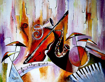 The Colour of Music  by Indira Mukherji