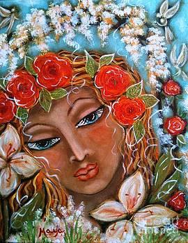 The Fairies in Merlynn's Garden by Maya Telford