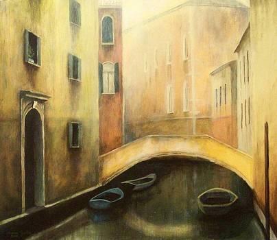The Fog in Venice by Milena Gawlik