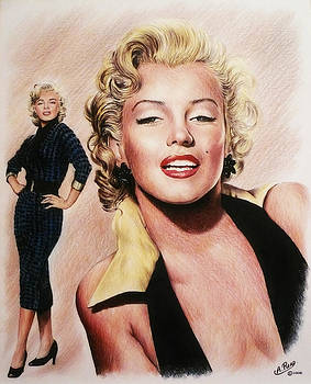The Glamour days Marilyn Monroe by Andrew Read
