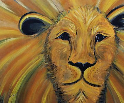 The Lion by Faytene Grasseschi