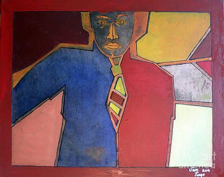 The man by Adalardo Nunciato  Santiago