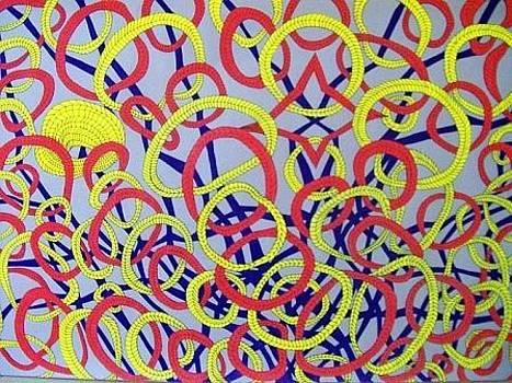 The Mind Kaleidoscope 4 by Jonathon Hansen