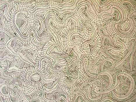The Mind Kaleidoscope 7 by Jonathon Hansen