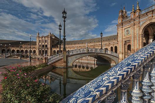 The Plaza de Espana of Seville by Ayhan Altun