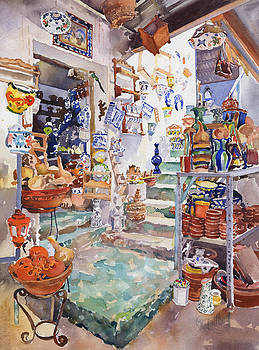 The Pottery Shop by Margaret Merry
