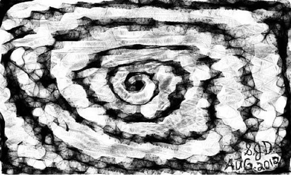 The Swirly Circle Of Life by Joe Dillon