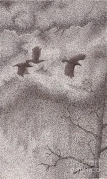 Three Crows by Wayne Hardee