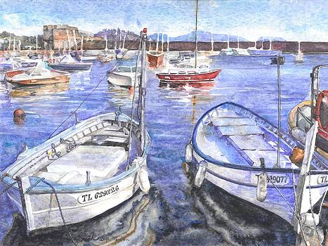 Toulon Fishing Boats by Sarah Kovin Snyder