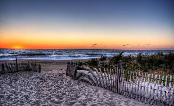Tower Beach Sunrise by David Dufresne