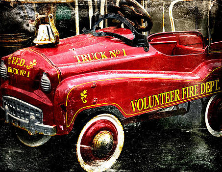 Toy Fire Truck by Bobbi Feasel
