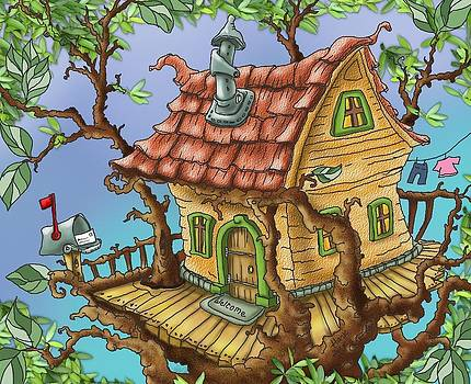 Tree House by Hank Nunes