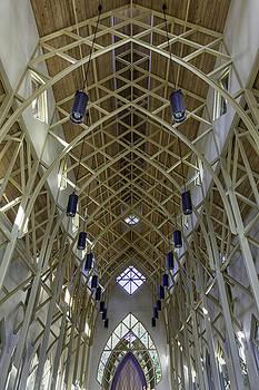 Lynn Palmer - Trussed Arches of UF Chapel