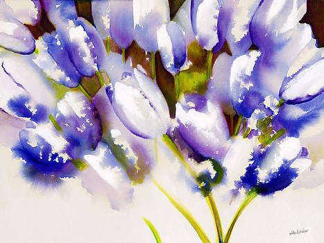 Tulips are People III by Jerome Lawrence