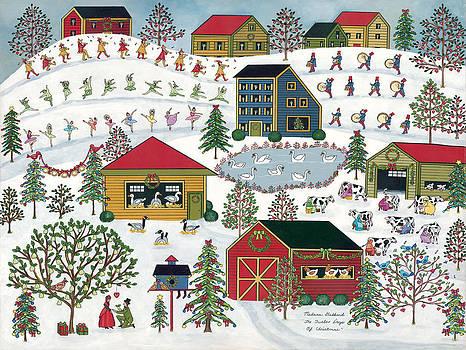 Twelve Days Of Christmas by Medana Gabbard