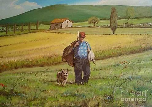Un Pastore by Sandro  Mulinacci