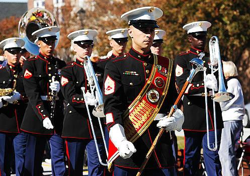 USMC Band by DM Werner