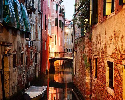 Venice Italy Canal by Kim Fearheiley