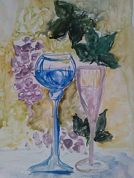Vine by Farfallina Art -Gabriela Dinca-