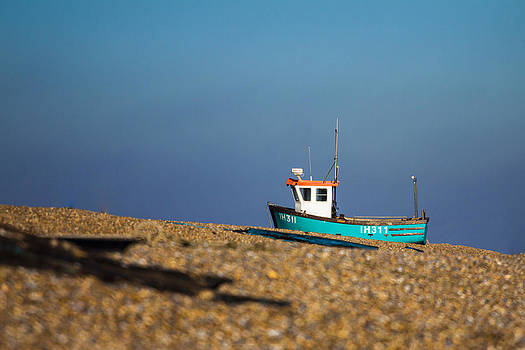 Waiting for the tide by Matthew Bruce