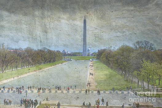 David  Zanzinger - Washington Monument Memorial Park National Mall Washington DC
