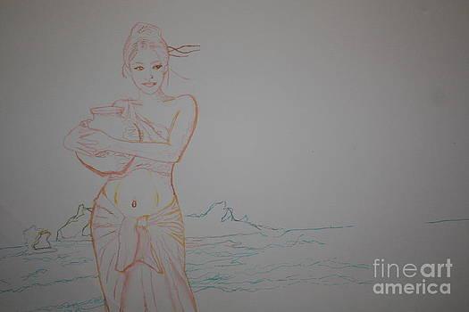 Water Girl by Leonard Lukomski