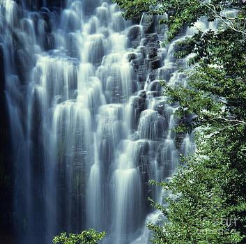 BERNARD JAUBERT - Waterfall. Auvergne. France