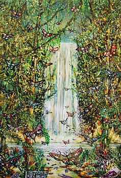 Waterfall Of Prosperity II by Dariusz Orszulik