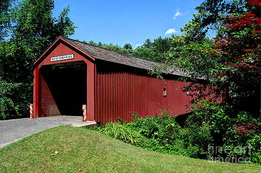 West Cornwall CT Covered Bridge by Guy Harnett