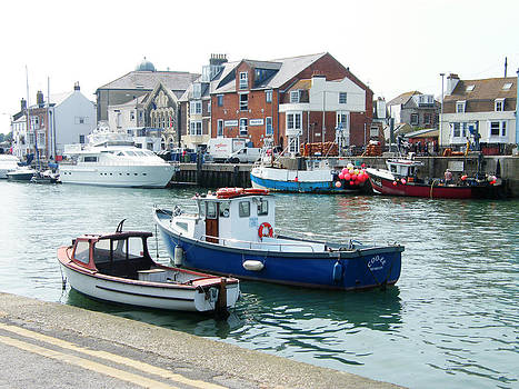 Weymouth Harbour - Dorset by Moya Moon