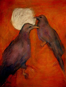 When Crow Made the Moon by Johanna Elik