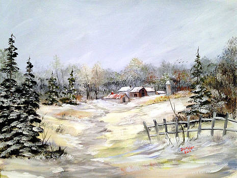 Winter at the Farm by Dorothy Maier