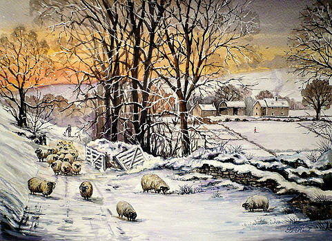 Winter In The Ribble Valley  by Andrew Read